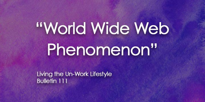 World wide web phenomenon
